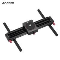 Wholesale Track Video Slider - Andoer GT-MN280 280mm Mini Manual Track Slider Follow Focus Wide-angle Shooting Camera Video Slider D4063
