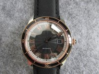 Wholesale France Business - 42mm luxury france classical men watch automatic wristwatch sapphire best top quality watches water resistant casual business watch