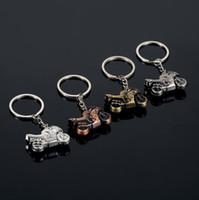 Wholesale Heavy Trucks Sale - Hot sale Creative Gifts 3D Heavy Duty Trucks Metal Keychains Car Advertisement Lumbar Key Chains KR105 Keychains mix order 20 pieces a lot
