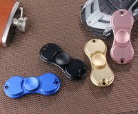 Wholesale Hand Spinner Toy Fidge Spinners golden Aluminum alloy Colors Torqbar Ceramic Bearing axis EDC Finger Tip Rotation anxiety Toy