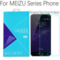 Wholesale Meizu Mx2 Screen - Screen Protector Film 0.3mm Front Tempered Glass For Meizu M2 Note Blue Charm Note2 M1 Note MX5 MX4 MX3 MX2 MX4