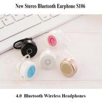 auriculares mini inalámbrico móvil al por mayor-Auriculares bluetooth inalámbricos de la música móvil 4.0 Auriculares inalámbricos cómodos mini de Bluetooth Headset en auriculares del oído