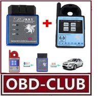 Mini ND900 Transponder Programmer Plus Toyo Key OBD II Key Pro Support 4C 4D 46 G H C Chips 2.Support Toyota G Chip All Key