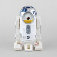 Wholesale Despicable Toys Pvc - Despicable Me Minions Cosplay R2D2 Robot Star Wars Related Toys 20CM Action Figures