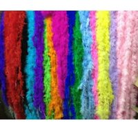 "Wholesale Wholesale Feather Garments - 50pcs  lot DIY 80"" Marabou feathers boas costumes dress up Garment Party Supplies"