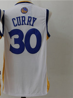 Wholesale Wholesale Stitched Jerseys - New Arrival 17 styles Men Jersey 2017 New Year 30 Curry Shirt Stitched Jerseys