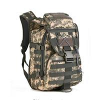 Wholesale Molle Backpack Cordura - Ourdoor Men Waterproof Molle Trekking Bag Military 3P Tactics Backpack Knapsack Women Assault Cordura Bag Packsack Man Backpacks