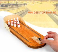 Wholesale Children Retail Designs - Hot New fashion toy creative designs Cute bowling balls desk toys Best Gift for children and Kids Wholesal cheapest Top Quality