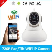 Wholesale Wholesale Cctv Systems Hd - 2017 newest 720P HD Mini Wireless IP Camera Wifi Pan Tilt Infrared Led CCTV P2P Remote Monitoring Home Security System IPcam