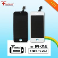 Wholesale Iphone Screen Low Price - for iPhone 5S LCD Screen Full Assembly with Display & Frame 100% Test Replacement Repair Parts AAA Quality Low Price Free Shipping AA0002