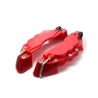 disco de ajuste al por mayor-M tamaño 16-17 pulgadas llantas 3D pinza de freno Fit para pinzas de freno cubre ABS Calipers Front Rear Disc Cover Kit