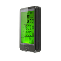 Wholesale multi function lcd speedometer computer for sale - Group buy 44mm x mm Bicycle Waterproof Wireless LCD Computer Speedometer Odometer Backlight New Brand
