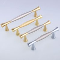 Wholesale handle 64mm for sale - Group buy fashion furniture decoration handle silver gold nickel drawer tv cabinet kitchen cabinet cupboard pulls mm MM