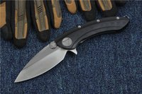 Special Offer Excellent Quality Flipper Folding knife D2 Satin Blade G10&TC4 Titanium Alloy Handle EDC Pocket Folder Knives Tactical knifes