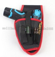 Wholesale Electric Screwdriver Cordless - NEW ping Electric screwdriver bag electric tool kit Drill bag Cordless drill bag (only one bag,no include electric drill)