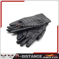 Wholesale Long Gloves For Sale - Wholesale- 2017 hot sale FOR Harley motorcyclists leather gloves long section of men's leather motorcycle gloves flame gloves