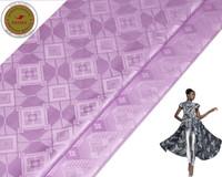 Wholesale Damask Guinea Brocade - Violet 2017 Austria 10Yards Bag New Pattern African Garment Fabric Shadda Damask Free Shipping Guinea Brocade Fabric