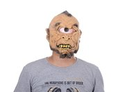 Wholesale Monocular Head - Halloween Mask Monocular Mask of Terror Party Mask Novelty Hot Sales Head Latex Rubber Party Masks Free Shipping 2017
