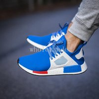 blue bluebird - Mens Womens NMD XR1 Primeknit Blue Bird Bluebird EU Royal Blue Running Shoes for sale size Come With Box