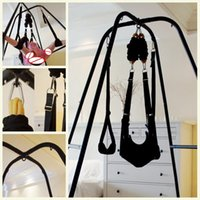 Wholesale Stand Sex - Room Fun Couples Flirting Swings Stand For Woman BDSM Bondage Adult Sex Toys For Theme Hotel Sex Furniture
