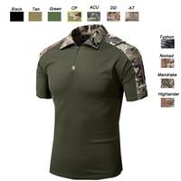 tenue de combat achat en gros de-Tenue de camouflage T-shirt de camouflage SO05-005