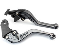 Wholesale R Short Levers - adjustable CNC Short Brake Clutch Levers for Triumph DAYTONA 675 R SPEED TRIPLE 1050 TIGER 1050 Sport 800 XC THRUXTON 05 08 09 11 12