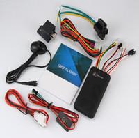 automotive gps tracker großhandel-GT06 Auto GPS Tracker SMS GSM GPRS Fahrzeug Tracker Locator Fernbedienung Tracking Alarm für Motorrad Scooter Locator Gerät
