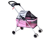 Wholesale Pet Carrier Small - New Best Pet Cute Posh Pet Stroller Dogs Cats With Cup Holder 6 color