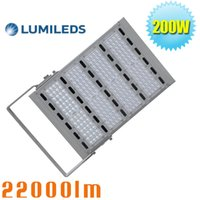 Wholesale 200W Outdoor Security led Flood Light W W Equivalent Floodlight lm Daylight White K Parking Fixture AC100 V