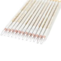 Wholesale white eyeliner waterproof - Wholesale-White Eyeliner 12pcs lot 1 Color Eyes Liner Pencil Waterproof Eye Liner Pencil Cosmetics Pencil CFP26 04# free shipping