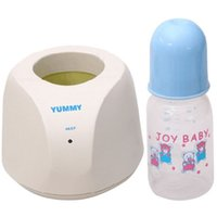 Wholesale Milk Heater - Wholesale-Hot Sale New 1 Warm Milk Heater+1 Milk Bottle New Household Warm Milk Heater for Infant Warmer Temperature for Newborn Baby