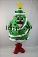 ingrosso costumi della mascotte della principessa degli adulti-2017 nuovo albero di Natale di alta qualità della pianta, fabbrica della sfera mascherata principessa della dimensione dell'adulto del costume della mascotte di natale