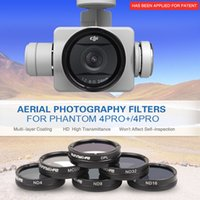 Wholesale Phantom PRO Gimbal Lens Filter MCUV CPL ND4 ND8 ND16 ND32 Filter Multi layer Coating for DJI Phantom PRO PRO