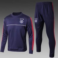 Wholesale Express Men Jacket - top quality 2017 2018 Ajax Football jacket tracksuit 17 18 KLAASSEN de foot NOURI DOLBERG YOUNES jacket Training suit Free Express