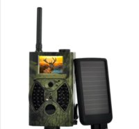 Wholesale Ir Pc Camera - HC-300M Trail Hunting Camera Photo Trap MMS SMS GSM GPRS 12MP HD Wild Camouflage Vedio Game Cameras with 36 Pcs IR LEDs