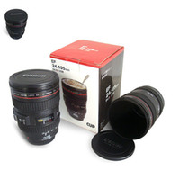 Creatives Camera Lens Coffee Mug Canons Cup 2 Generation of Len Mugs Canoni Fans Fotografi Novità Regali