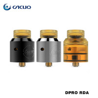Wholesale Built Fit - Coilart DPRO RDA Fused Clapton Coil NI80 24k Golden Plated BF Pin fit Single Dual Coil Build Desk 100% Original