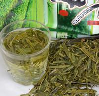 cuidado verde venda por atacado-2019 novo chá de cuidados de saúde 250g bem chinês longjing chá o chá verde chinês longjing a china emagrecimento beleza