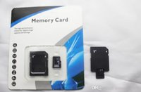 Wholesale Memory Card Retail - Retail selling 32GB 64GB 128GB 256GB Micro SD SDHC Class10 Memory Card for Mobile Phone   Smartphone