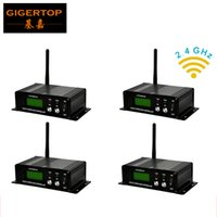 Wholesale wireless dmx transmitters for sale - Group buy Freeshipping units G wireless DMX transmitter receiver wireless dmx controller disco lights LCD display Outstanding reliability