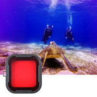 Wholesale Red Filter 52mm - New Professional Diving Housing Red Filters for GoPro Hero 3+ Camera Scuba free shipping 2017 tinyaa