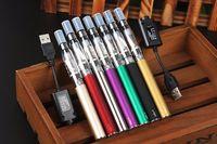 e cig starter kit ego vaporizer großhandel-Ego-t Ce4 Blister Einzelsets und 650mAh 900mAh 1100mAh Ego-Akku USB-Ladegerät Ce4 Zerstäuber Vaporizer E-Zigarette Vape Pen Starter Kits