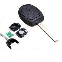 Wholesale focus remote key - Brand New 3 Buttons Remote Key Fob with 63 Start Chip for Ford Focus Mondeo AUP_400