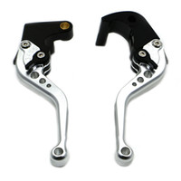 Wholesale Kawasaki Clutch Levers - Eight Colors Short CNC Brake Clutch Levers For KAWASAKI ZX6R ZX636R ZX6RR(2000-2004) ZX10R(2004-2005) Z1000(2003-2006) ZZR600(2005-2009)