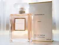 Wholesale Good Female - Top quality ! 100ml good smell MADEMOISELLE perfume for women with long lasting time fragrance high quality free shipping