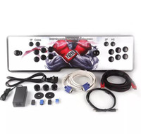 Wholesale Hdmi Design - New design,American joystick,The new Pandora box 4S arcade consoles ,680 programs,HDMI VGA out, connected to computer,Add pause and exit.