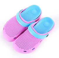 Wholesale Rubber Clogs For Women - Special Offer Summer Women Clogs Shoes Beach Breathable Slippers Waterproof Anti-Slip Clogs For Women sandals flip-flops