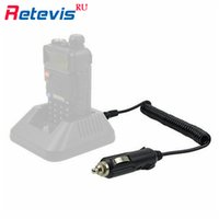 Wholesale Tyt Car Charger For Baofeng - Wholesale- Walkie Talkie Accessories Car Charger Cable 12V DC Travel For TYT BaoFeng UV-5R Retevis RT-5R Two Way Amateur Radio In Mosocw