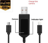 spy cabling - 32GB P HD Spy Camera Charging Cable Camera Data Cable Camera Mini Non perforated Cam Charging Simultaneous Video