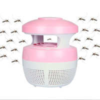 Wholesale LED mosquito lamp insect repelling lamp Electronic mosquito killer No radiation good for baby Pregnant woman Mosquito trap DHL free USZ109